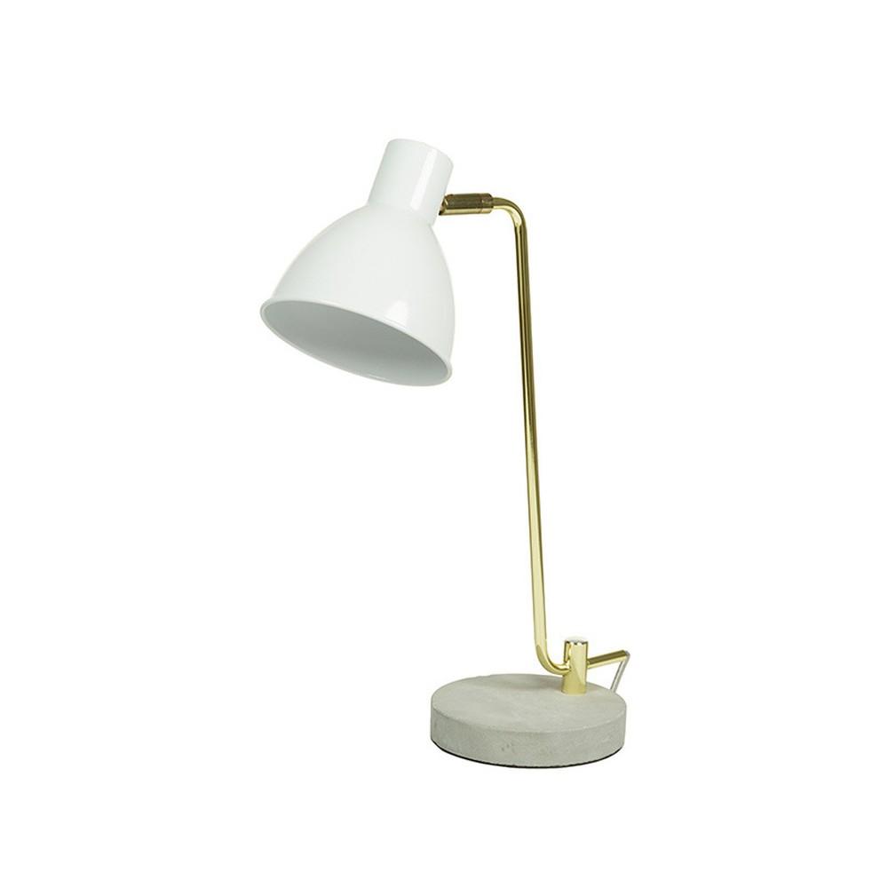 Stolová lampa s betónovou základňou Santiago Pons Paolo