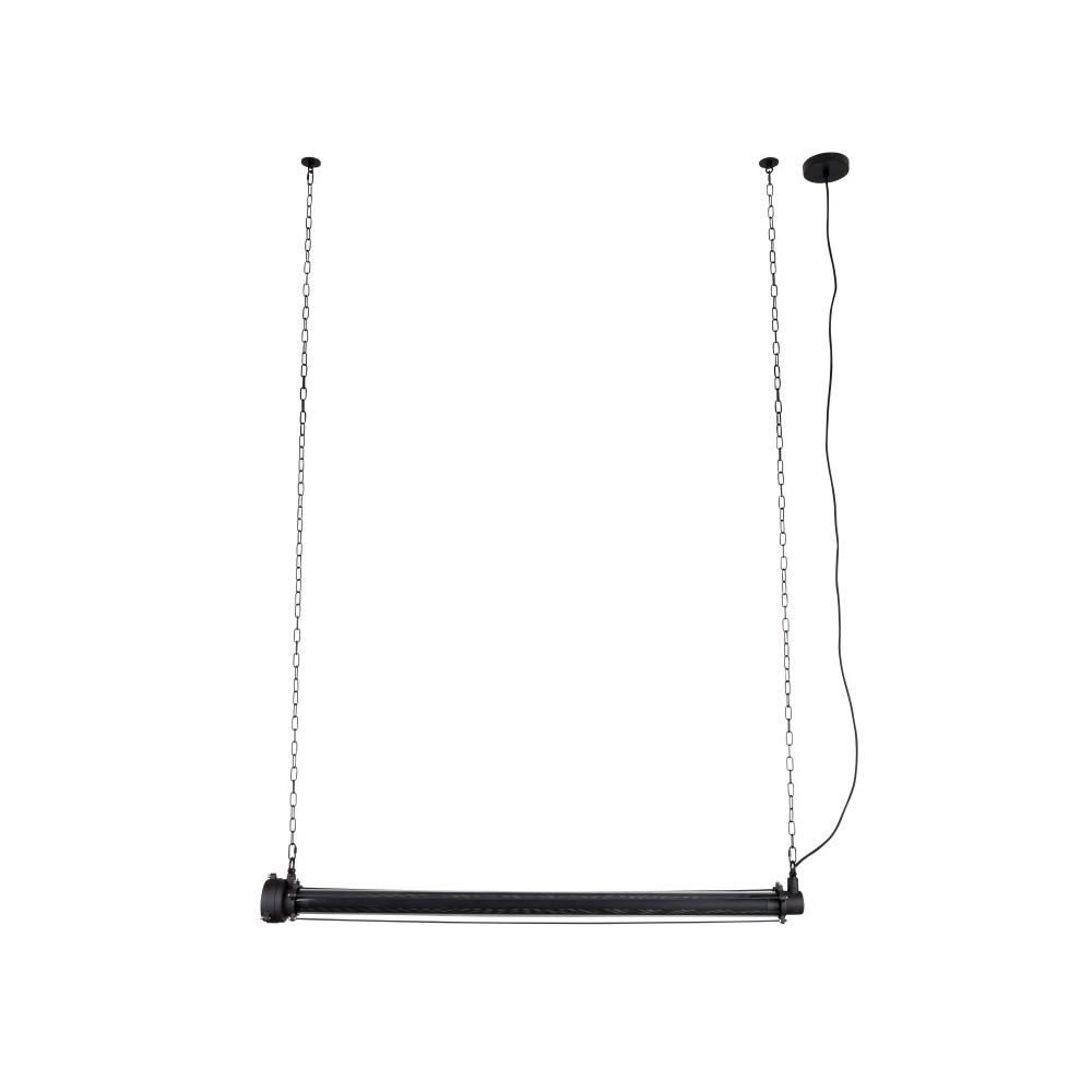 Čierne stropné svietidlo Zuiver Prime XL