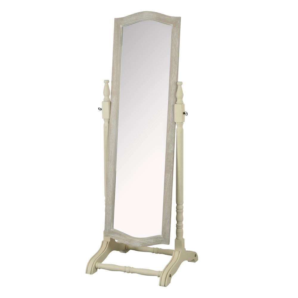 Zrkadlo z topoľového dreva Livin Hill Pesaro