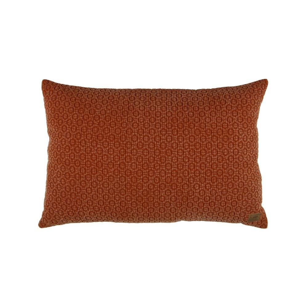 Hnedý bavlnený vankúš De Eekhoorn Flatter, 40×60cm