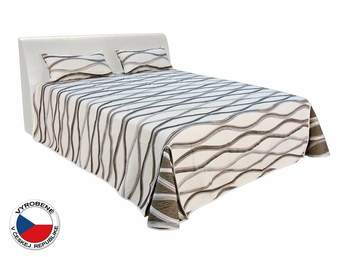 Manželská posteľ 180 cm Blanár Merkur (biela) (s roštami a matracmi Ivana Plus)