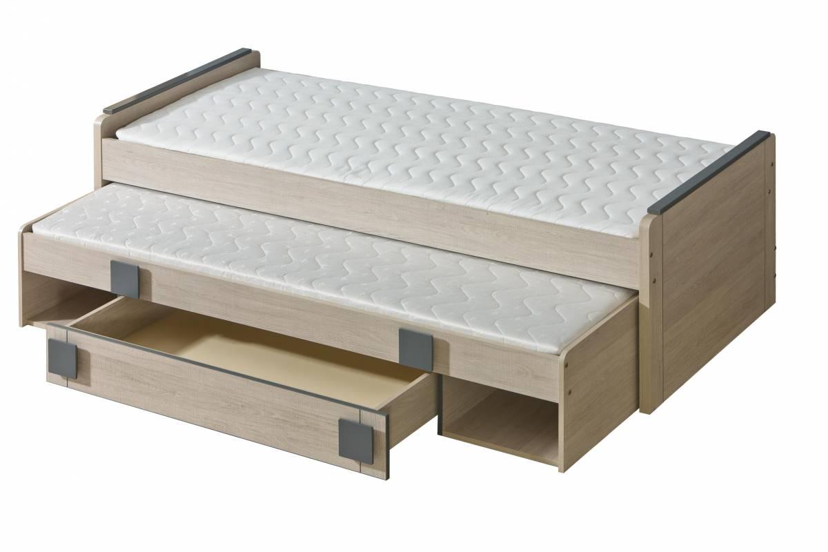 Rozkladacia posteľ 80 cm G16 (s roštami)