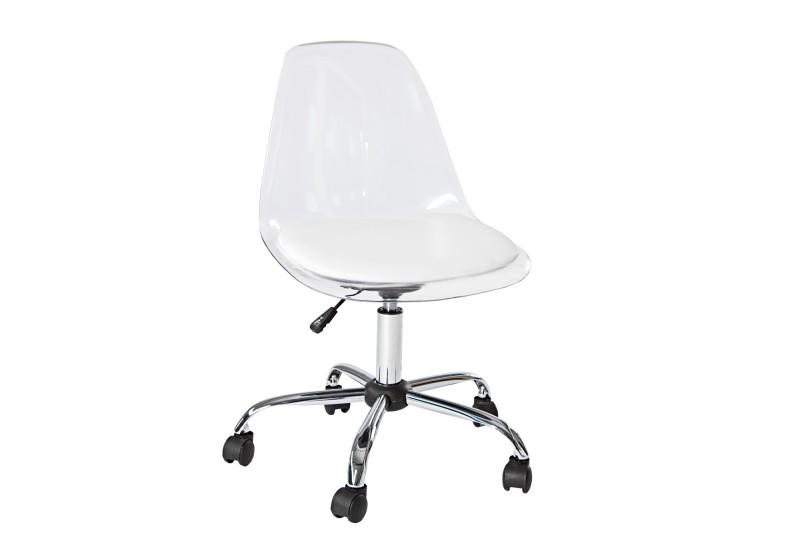 Kancelárska stolička GROST - číra