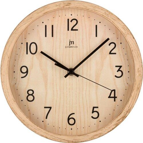 Lowell 00827F Dizajnové nástenné hodiny pr. 25 cm