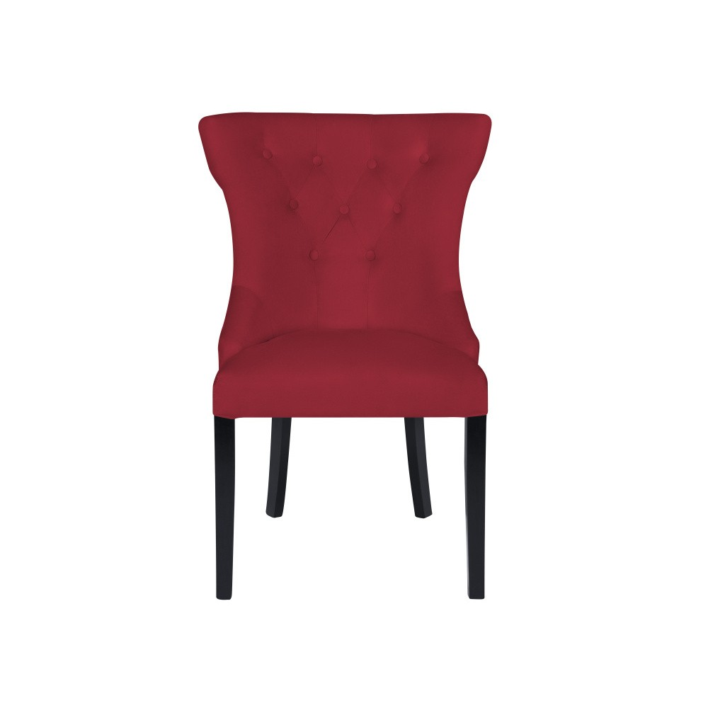 Červená stolička Micadoni Home Mero