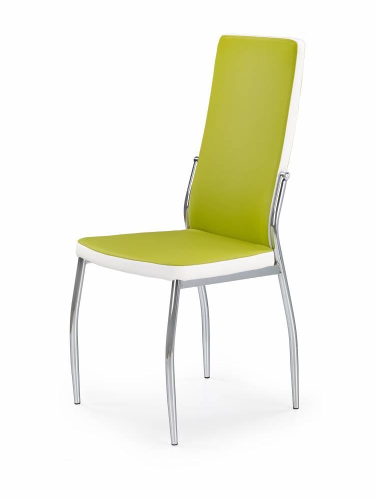 Jedálenská stolička K210 (zelená + biela)