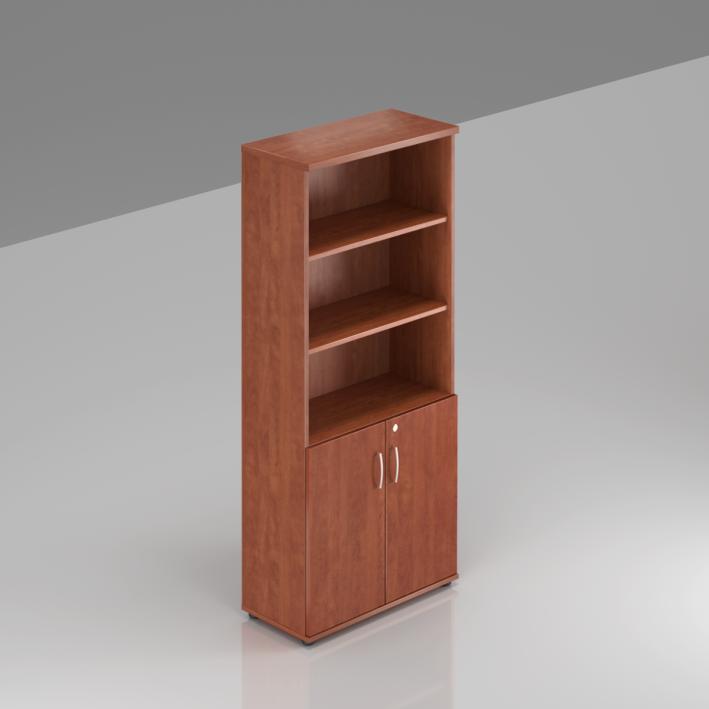 Rauman Kancelárska skriňa Visio, 80x38,5x183,5 cm, dvere 2/5 S582 03