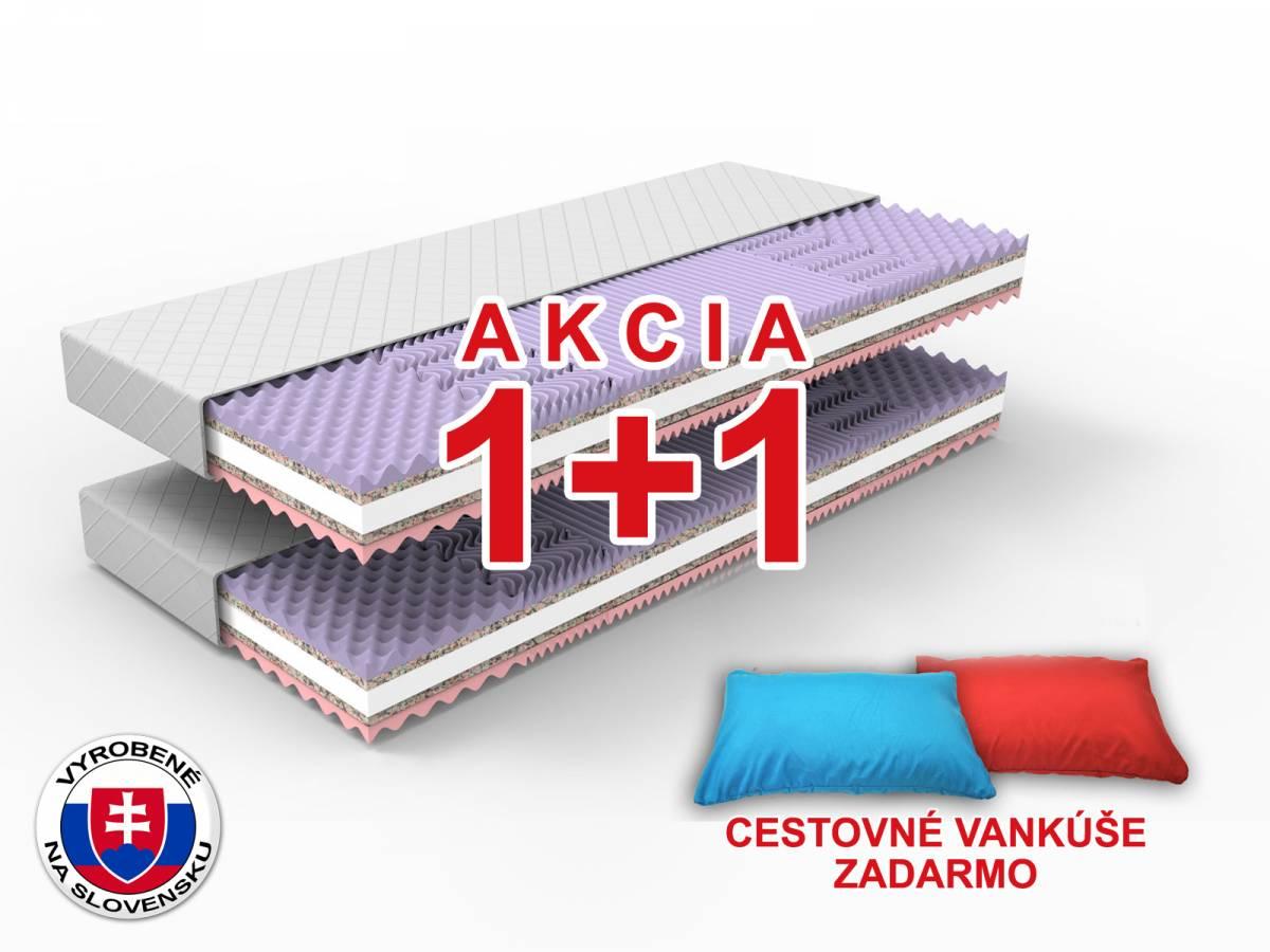 Penový matrac Gina 200x80 cm (T3/T4) *AKCIA 1+1