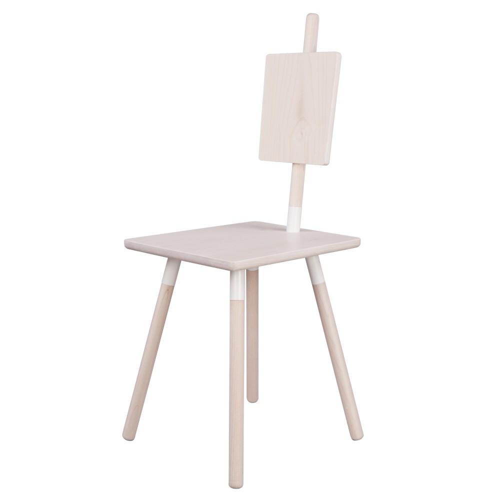 Jedálenská stolička z javorového dreva Nørdifra Sticks