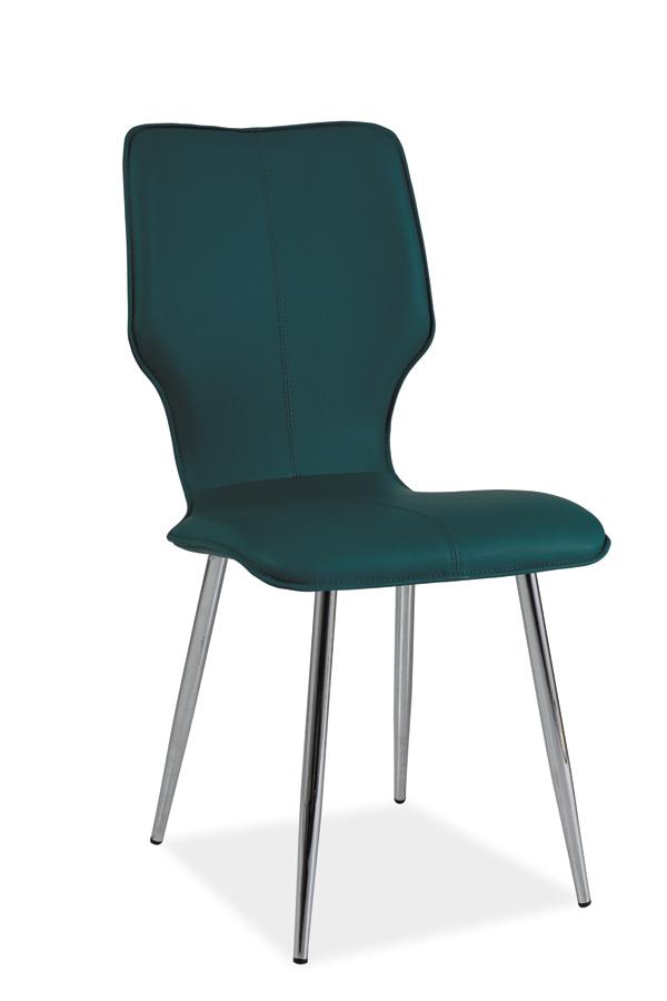 HK-676 jedálenská stolička, morská zelená