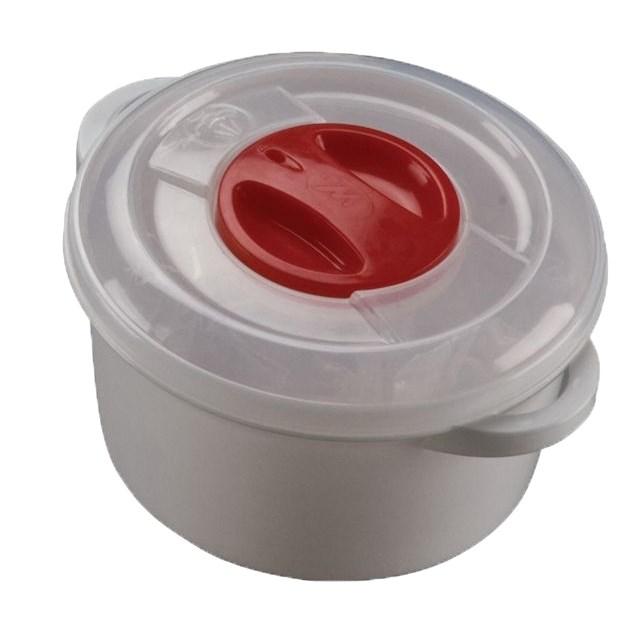 Plastový hrniec do mikrovlnnej rúry 3 l, 3 l