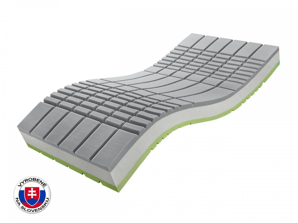 Penový matrac Benab Medical Visco S3 200x80 cm (T3/T4)