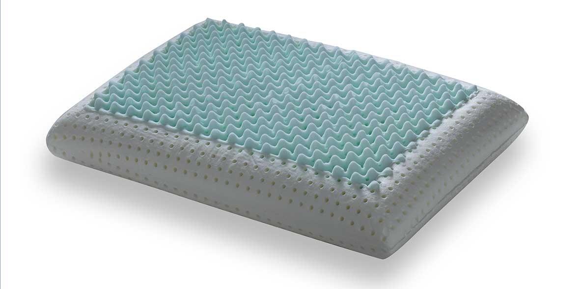 PerDormire Dual Clima - Univerzálny vankúš s masážnou profiláciou 72x42 cm