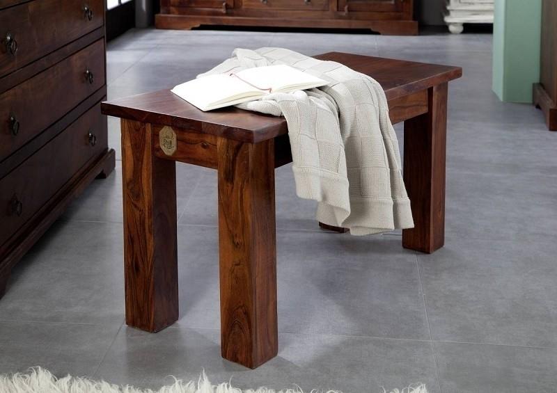 OXFORD #50 Koloniale lavica 85x36, masívne agátové drevo