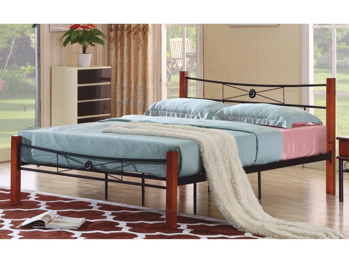 Manželská posteľ 180 cm Amarilo (s roštom)