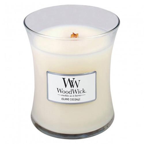 Vonná sviečka WoodWick Kokos, 275g