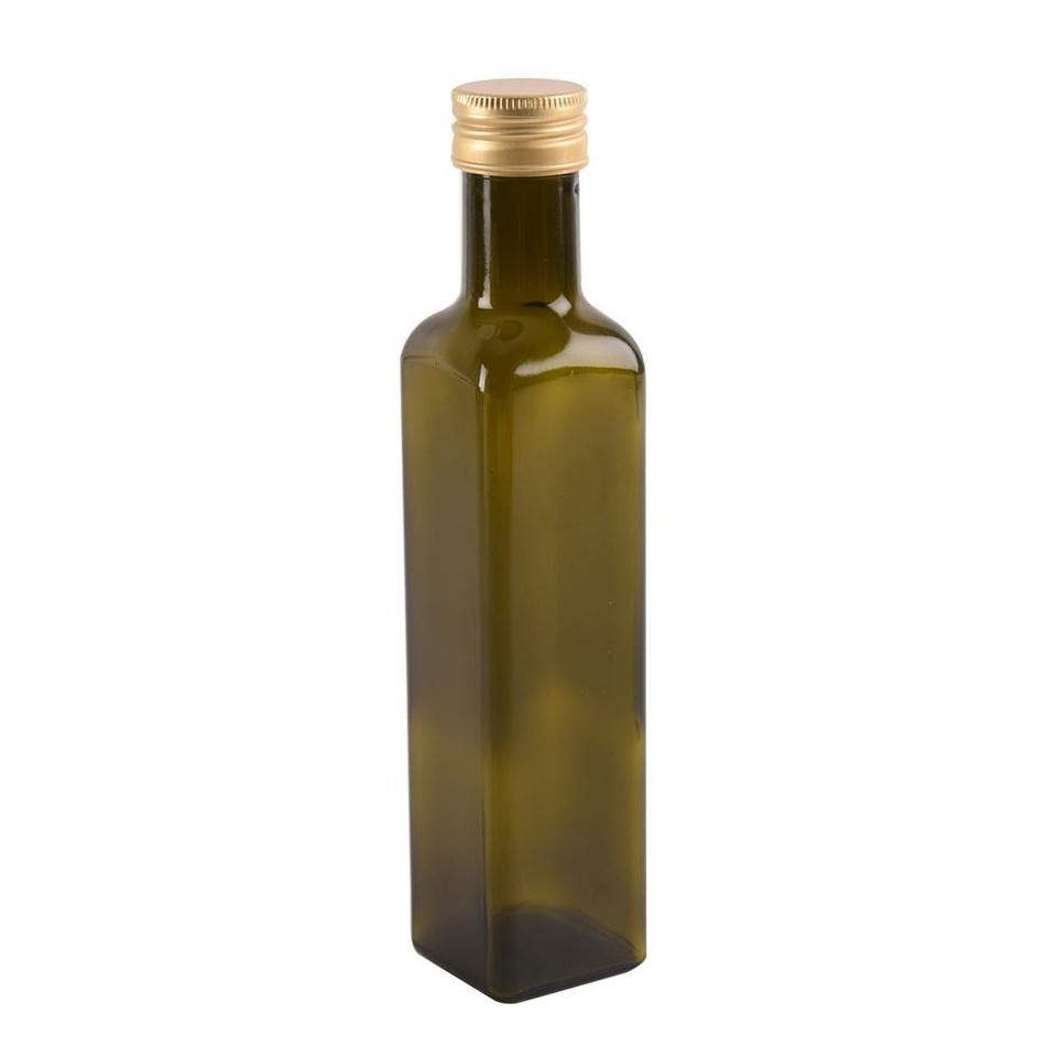 Fľaša sklo+viečko OLEJ 0,5 l ORION