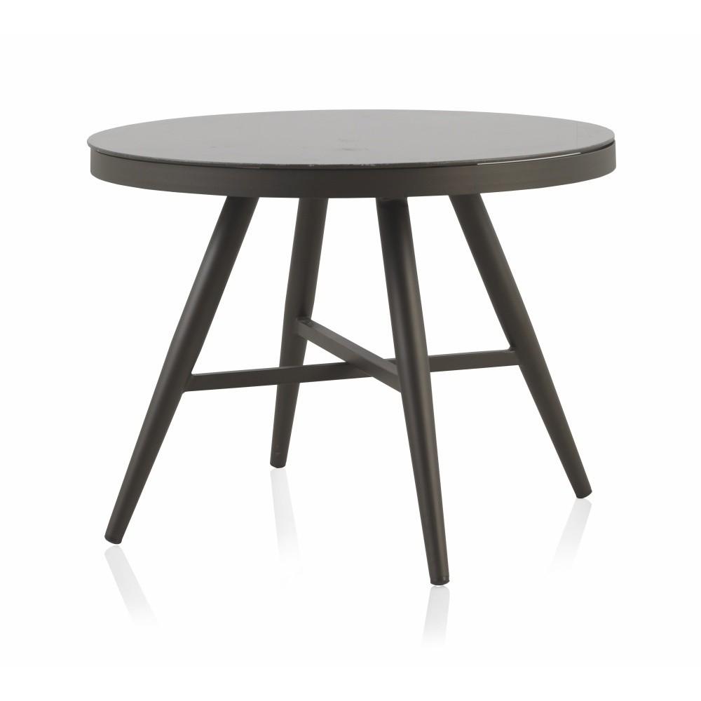 Záhradný jedálenský stôl Geese Johnny, ⌀ 100 cm