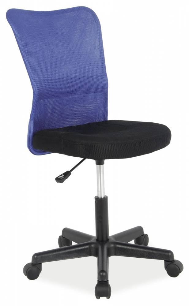 Kancelárske kreslo Q-121 (modrá + čierna)