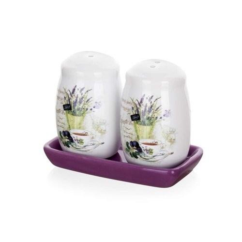 Banquet Lavender soľnička a korenička,