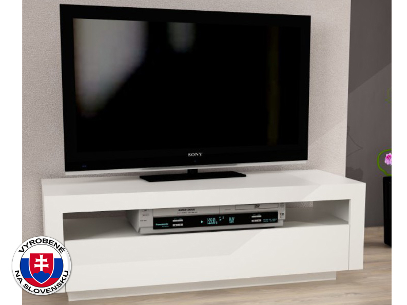 TV stolík/skrinka Agnes (biela)