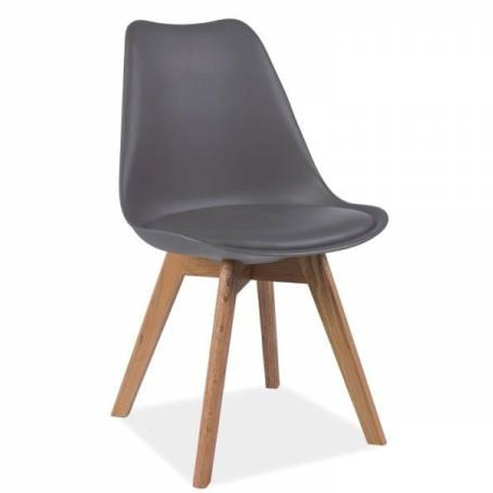 Sivá stolička loomi.design