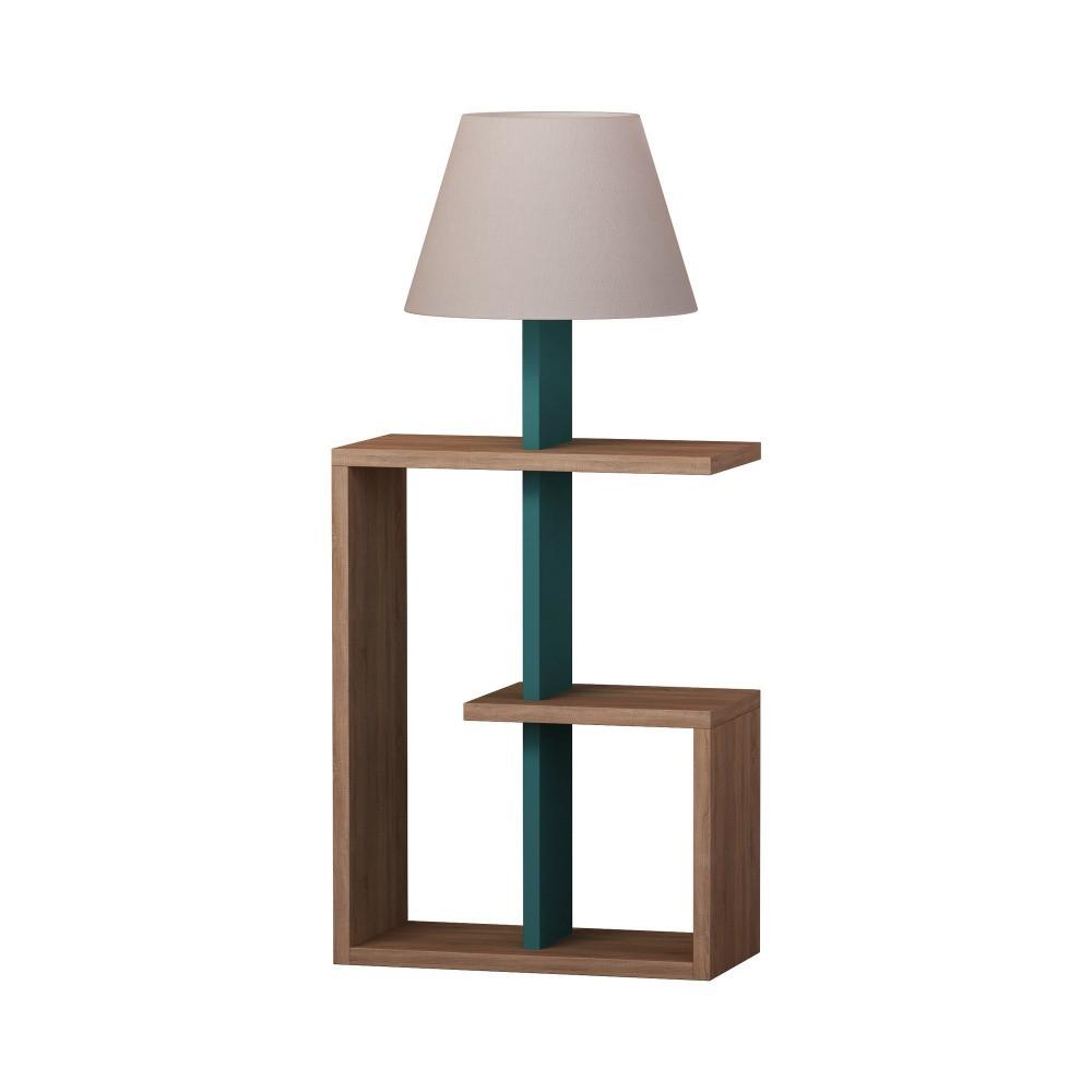 Tyrkysová voľne stojacia lampa Homitis Saly