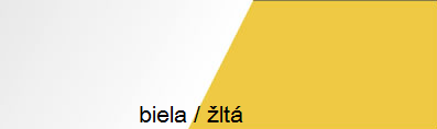 Skriňa MOBI MO 3 Ľ/P   Farba: Žltá