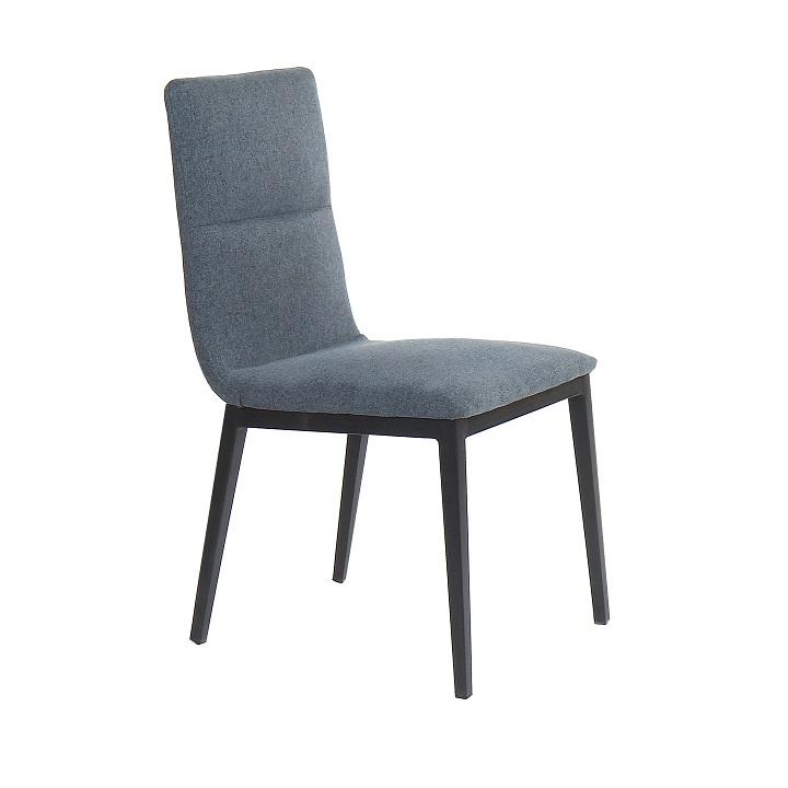 Jedálenská stolička Aslan (sivá)