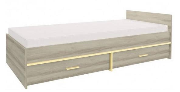 Detská posteľ GEOMETRIC 07 / BREST   Farba: Žltá