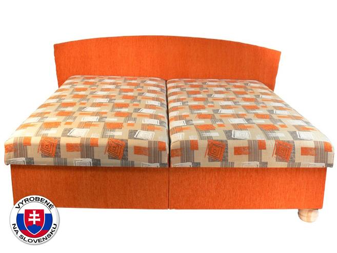 Manželská posteľ 160 cm Milano (s pružinovým matracom)