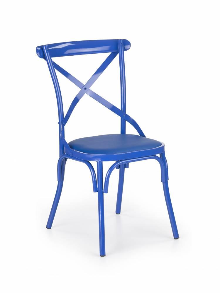 Jedálenská stolička K216 (modrá)