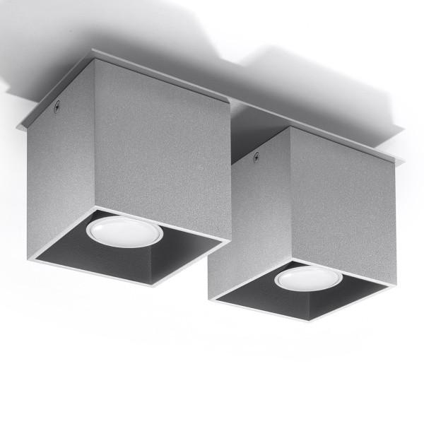 Stropné svetlo Nice Lamps Geo 2 Grey