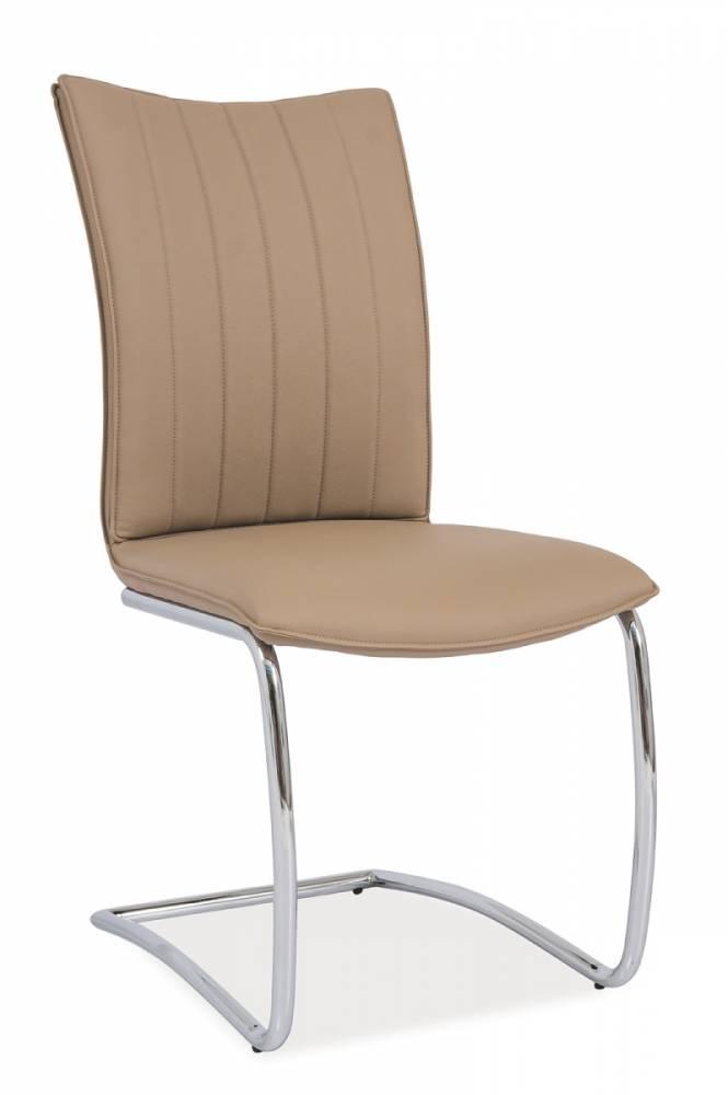 Jedálenská stolička HK-455, tmavobéžová