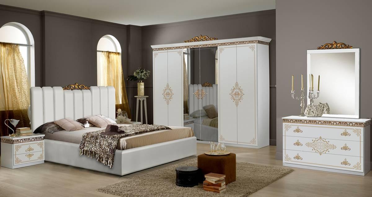 Spálňa SAPHI 6 DOORS - biela