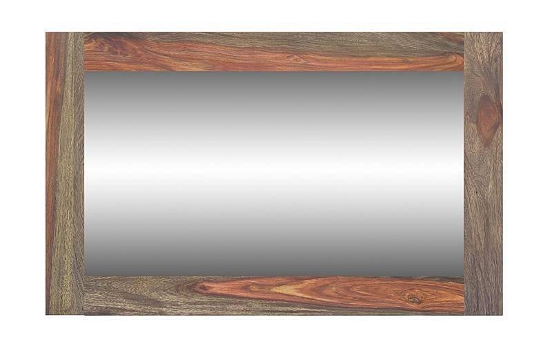 PURE SHEESHAM Zrkadlo #741 indický palisander, olejovaný