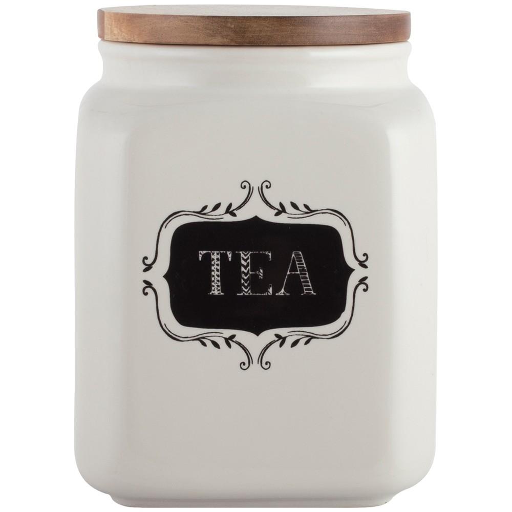 Keramická dóza na čaj s vekom Stir It Up