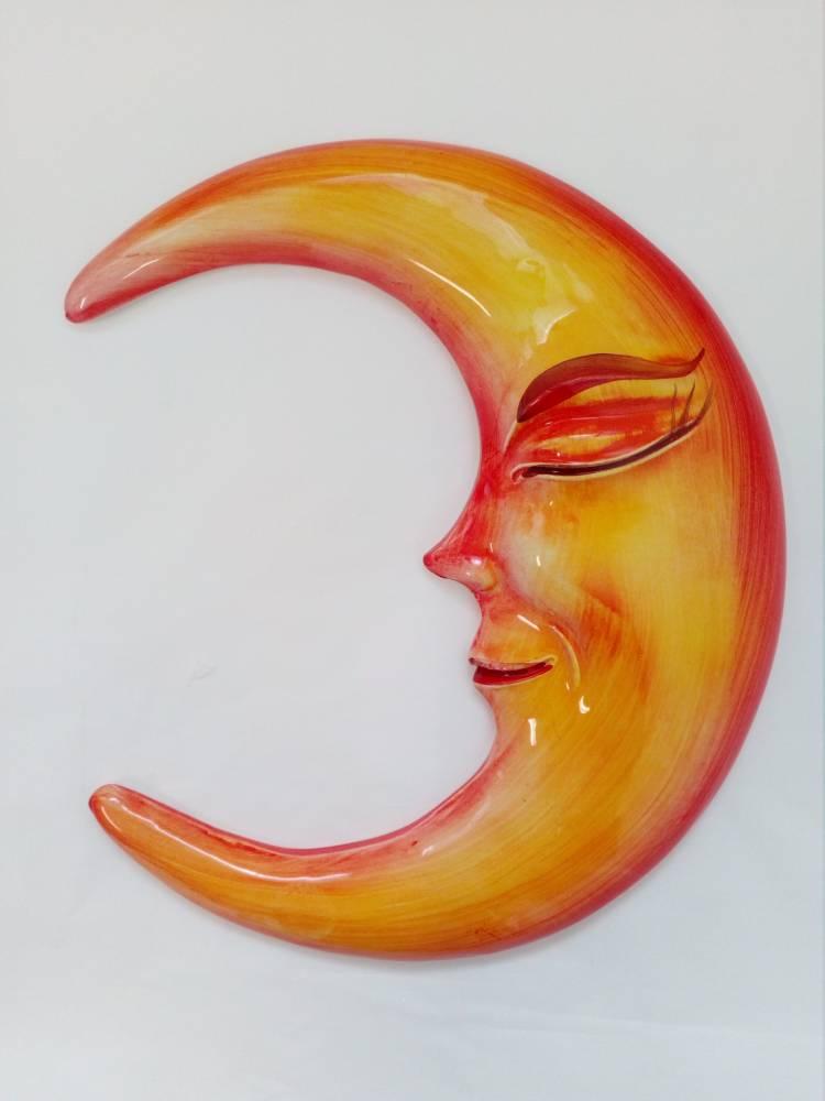 Keramický mesiačik žltý BR