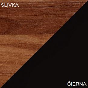 Konferenčný stolík VERIN 02   Farba: Slivka / čierna