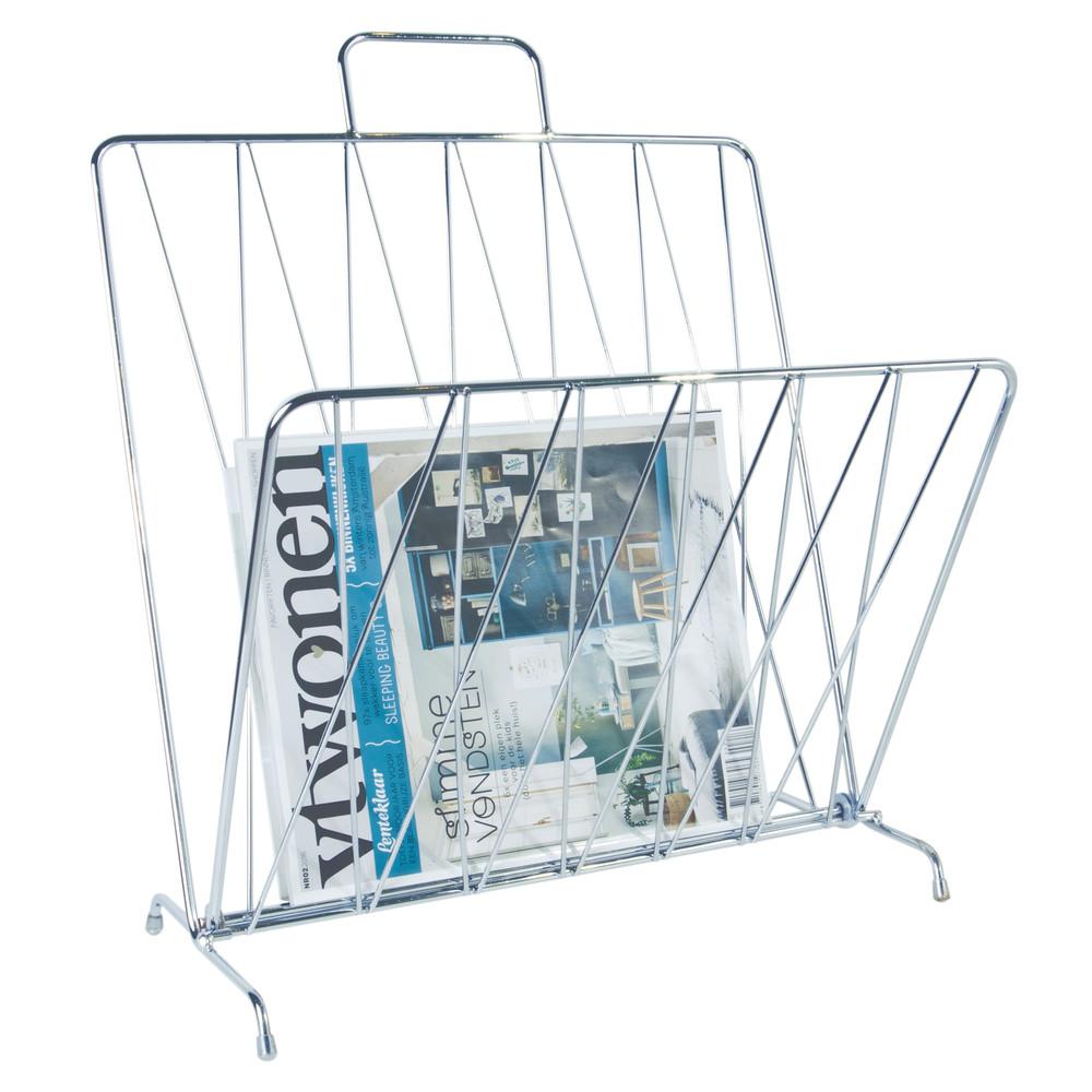 Strieborný stojan na časopisy ETH Diamond