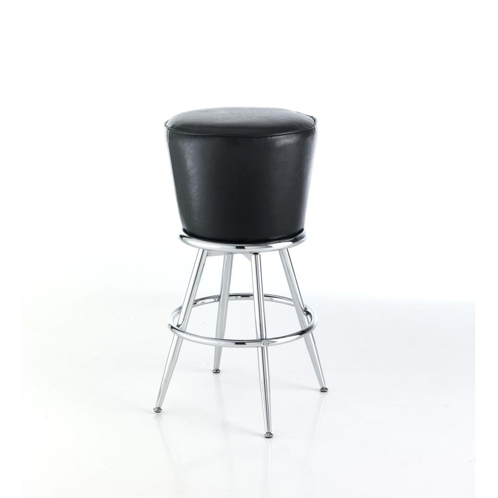 Čierna barová stolička Tomasucci Tony