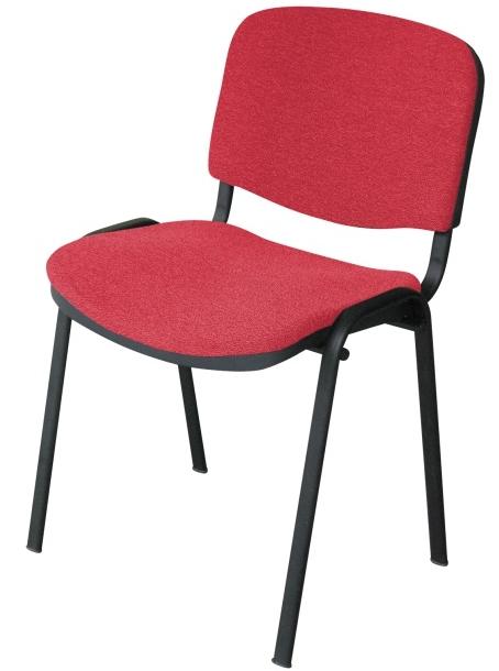 Konferenčná stolička Iso New červená