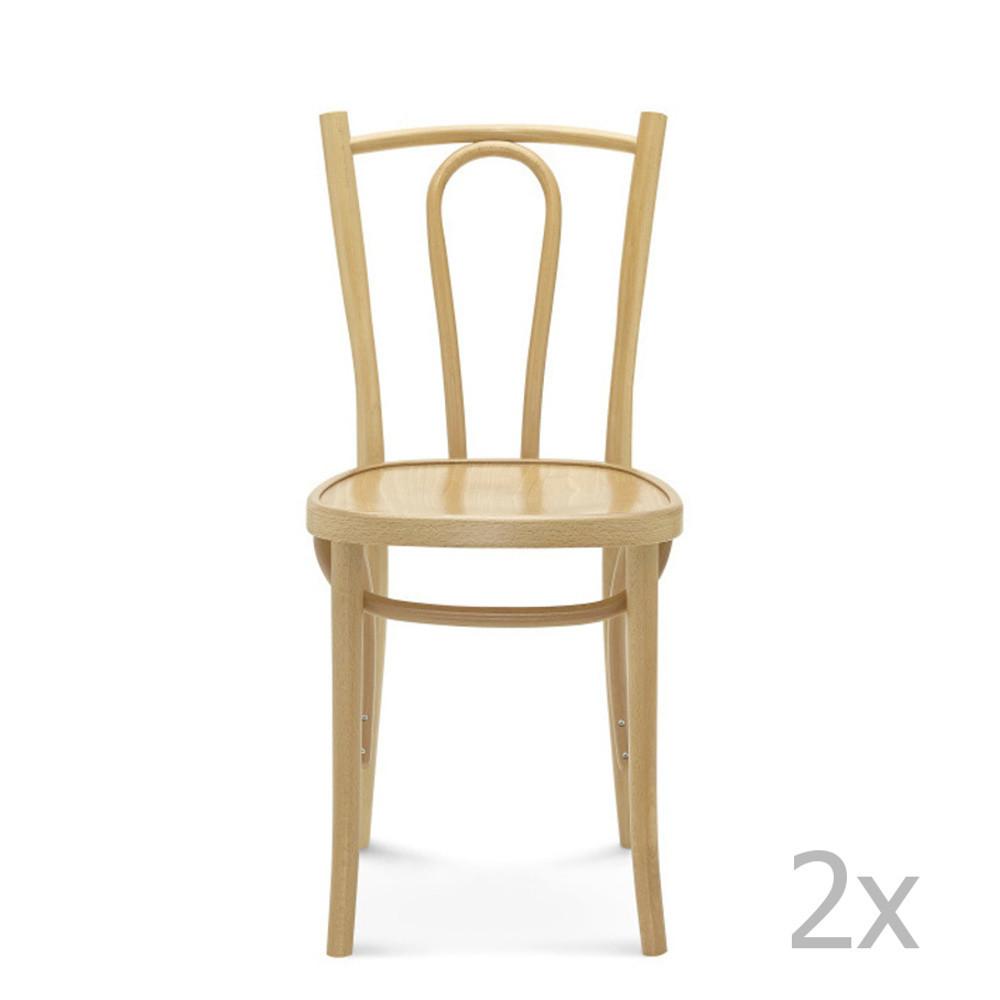 Sada 2 drevených stoličiek Fameg Lauritz