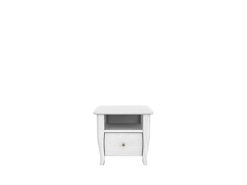 Nočný stolík Orland KOM1S (Dub bielený)