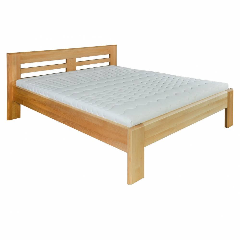 Manželská posteľ 160 cm LK 111 (buk) (masív)