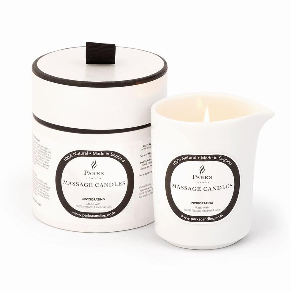 Masážna sviečka s vôňou mandarínky a rozmarínu Parks Candles London Euphoric, 50 hodín horenia