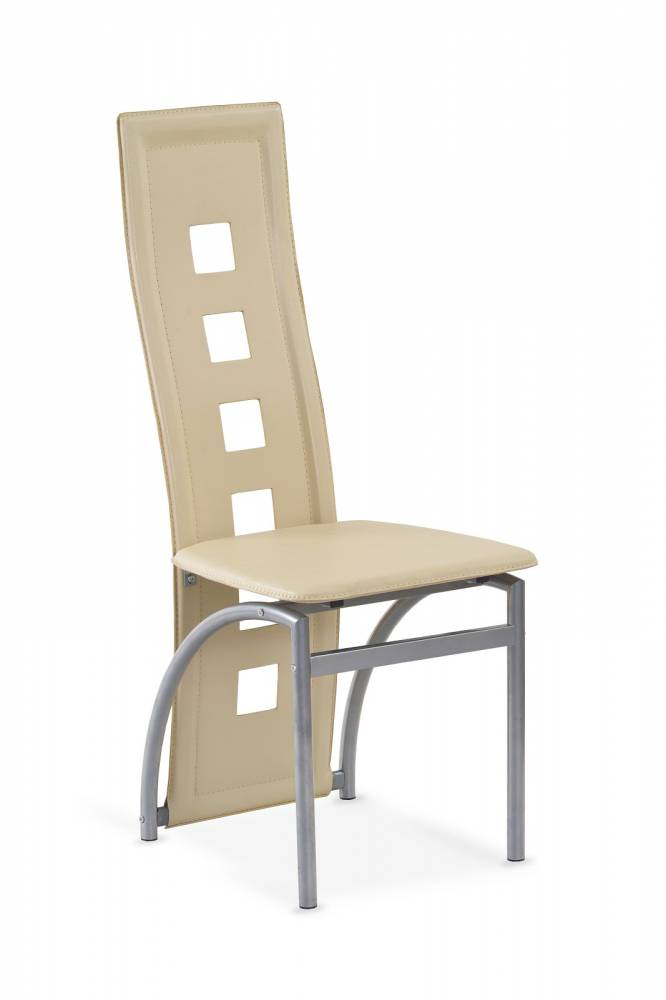 Jedálenská stolička K4 M tmavokrémová