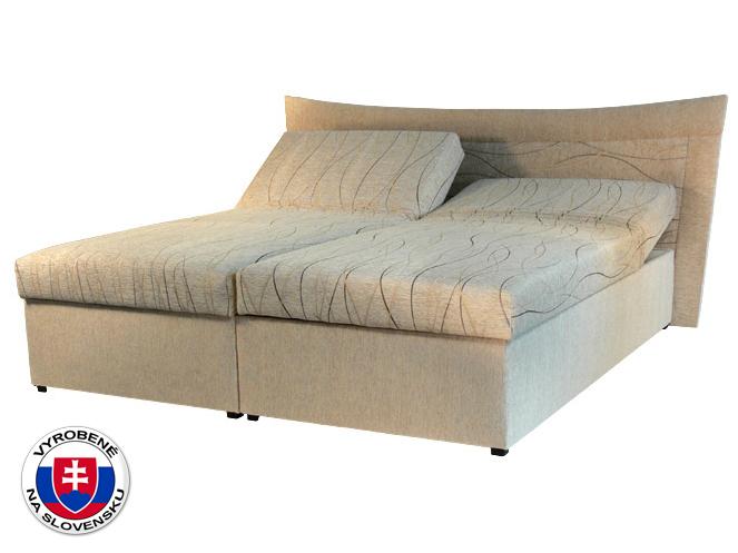 Manželská posteľ 180 cm Roma 2 (s molitanovým matracom)