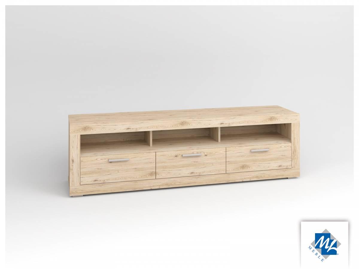 TV stolík/skrinka Modern 12 dub San Remo