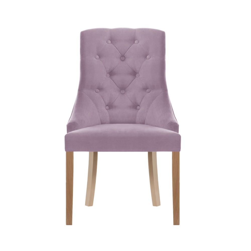 Svetlofialová stolička Jalouse Maison Chiara